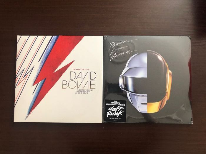 David Bowie, Daft Punk - The Many Faces Of David Bowie A Journey Through, Random Access Memori The Inner World Of David Bowie - 2xLP Album (double album) - 2012/2012