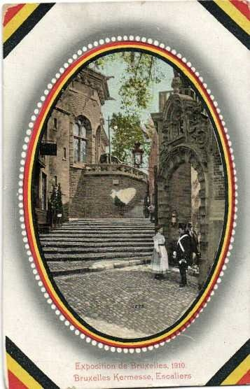 Belgium - Brussels - Postcards (Collection of 108) - 1900