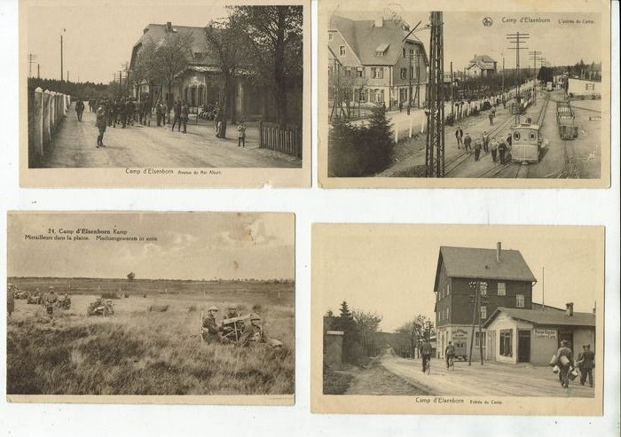 Belgium - Military, Elsenborn camp - Postcards (Collection of 100) - 1920