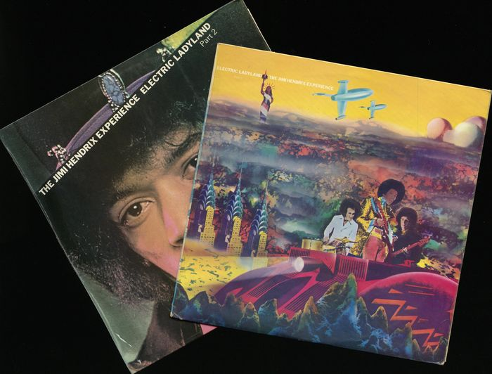 Jimi Hendrix Experience - Electric Ladyland part 1 & 2 - Original early UK individual releases of the album  - Multiple titles - LP Album - 1968/1968