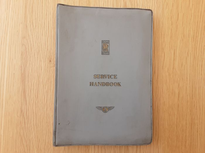 Books - Service handbook Silver Wraith/Dawn - Bentley MK VI/R Type - Phantom IV + Technical Manual  - Rolls-Royce - 1960-1970