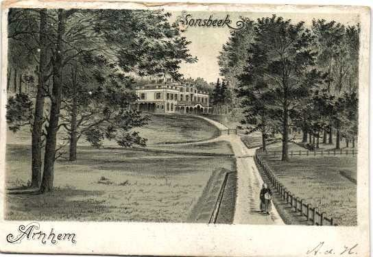 Castles of the province of Gelderland with very old maps - Postcards (Collection of 88) - 1901