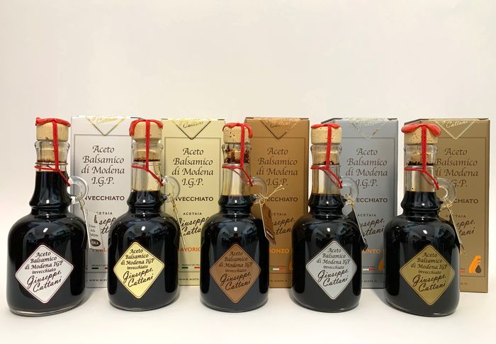 """8"", ""12"", ""18"", ""25"", ""40"" Cattani - Balsamic vinegar - 5 - 250ml"