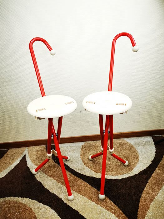 Ivan Loss - Sandrigarden - stool / walking stick (2) - Ulisse