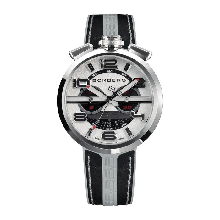 Bomberg - 1968 Collection Grey plus Extra Strap - RS45CHSS.75.3 - Mænd - 2011-nu