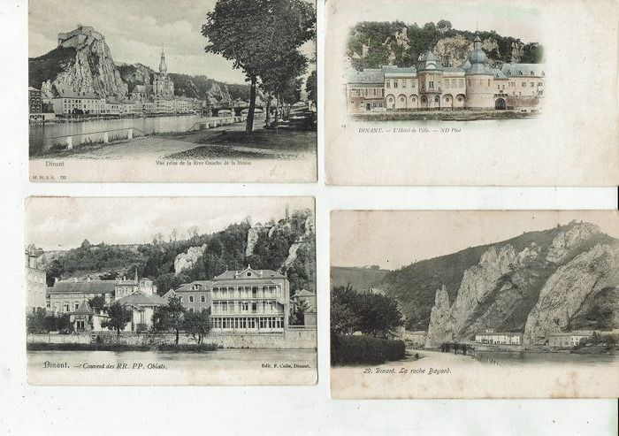 Belgium - City & Landscape - Postcards (Collection of 100) - 1901