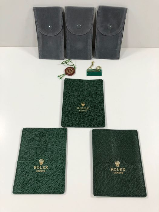 Rolex - 101.40.55 / 3 pieces / and a batch of gifts(98) - Unisex - 1990-1999