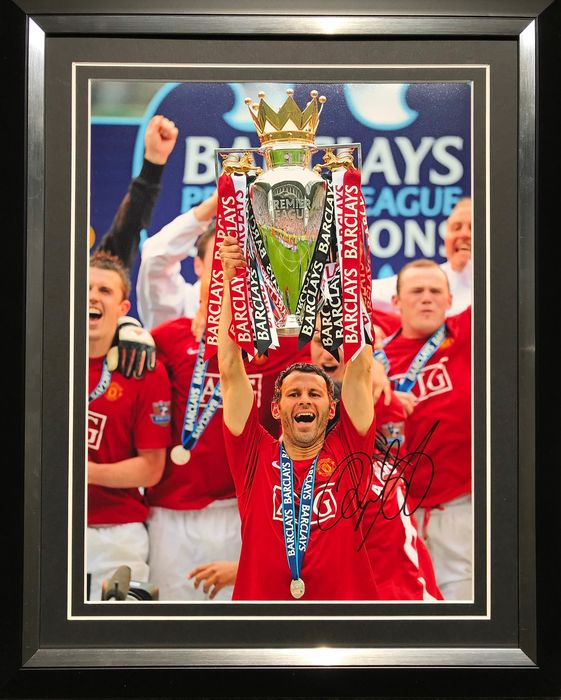 Manchester United - European Football League - Ryan Giggs - Fotografia