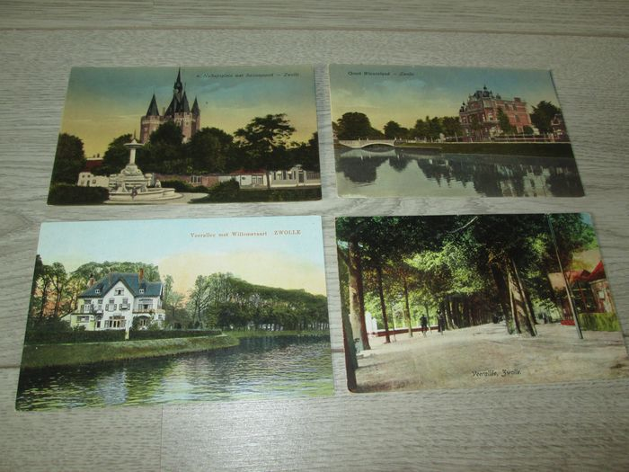Netherlands - City & Landscape - Zwolle - Postcards (Collection of 22) - 1920-1960