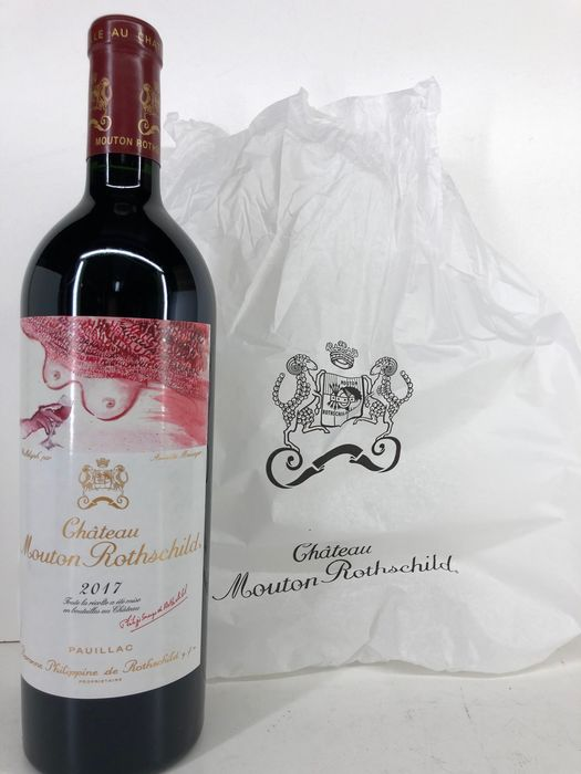 2017 Chateau Mouton-Rothschild - Pauillac 1er Grand Cru Classé - 1 Bottle (0.75L)