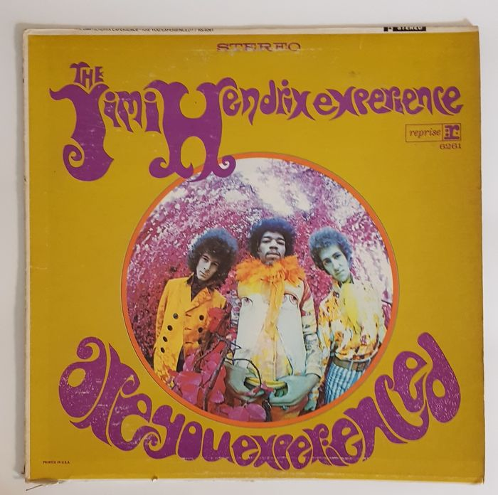 Jimi Hendrix Experience - Are You Experienced - LP Album - 1967/1967
