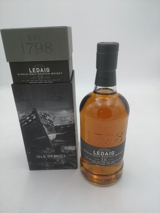 Ledaig 18 years old sherry cask finish - Original bottling - 70cl