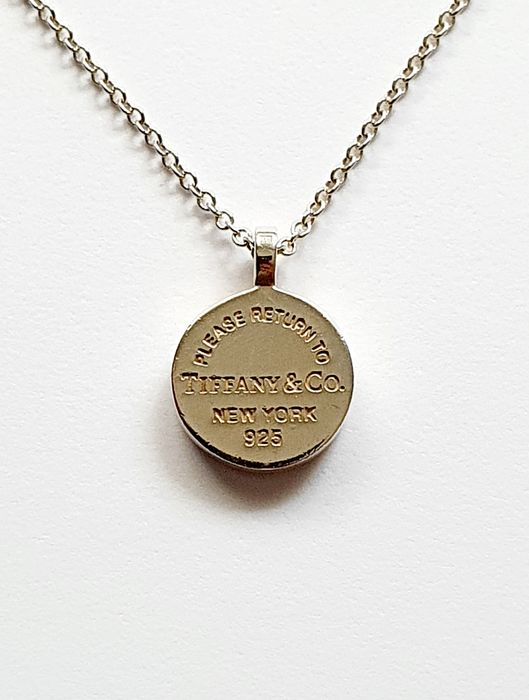 Tiffany - 925 Silver - Necklace with pendant