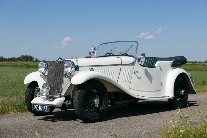 Singer - 1 ½ Litre Sports 4-seater RHD - 1933