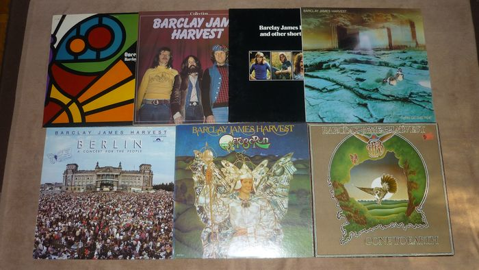 Barclay James Harvest - 7 great albums incl. Club Edition - Multiple titles - LP's - 1977/1982