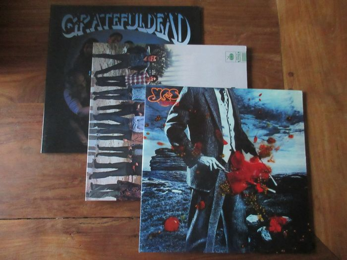 Various Artists/Bands in Classic Rock (before 1990) - Blood Sweat & Tears - Yes - Grateful dead - Différents titres - LP's - 2011/2013