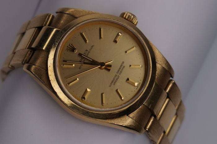 Rolex - Oyster Perpetual - 67488 - Uomo - 1990-1999