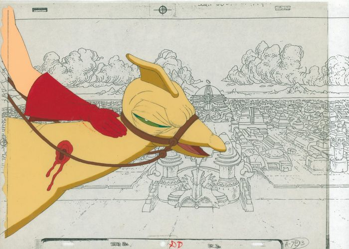 Heavy Metal - two cels and copy background - First edition - (1981)