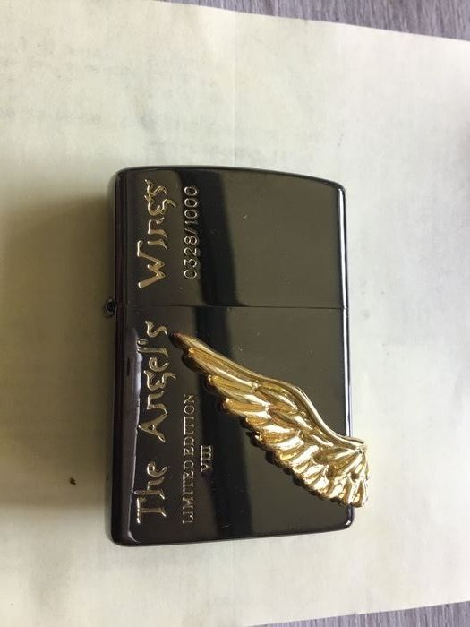 Zippo - Lighter - Zippo Japan Angel Wings limited edition of 1