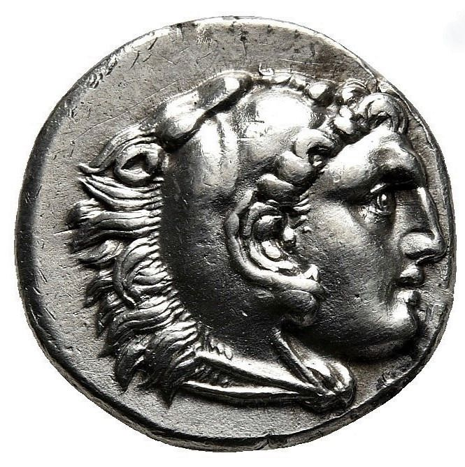 Griechenland (Antike) - Kings of Macedon. Lampsakos. AR Drachm, Alexander III The Great (336-323 BC) - Silber