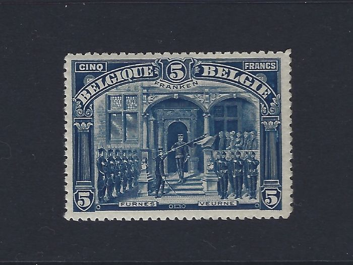 Belgien 1915 - COB 135/149, MNH with very nice centring