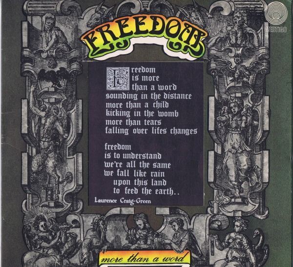 Freedom - Freedom Is More Than A Word - Álbum LP - 1972