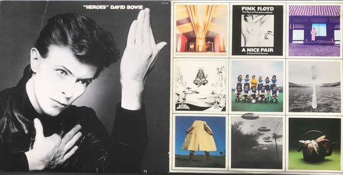 David Bowie, Pink Floyd - Heroes, a Nice pair - 2xLP Album (double album), LP Album - 1967/1977