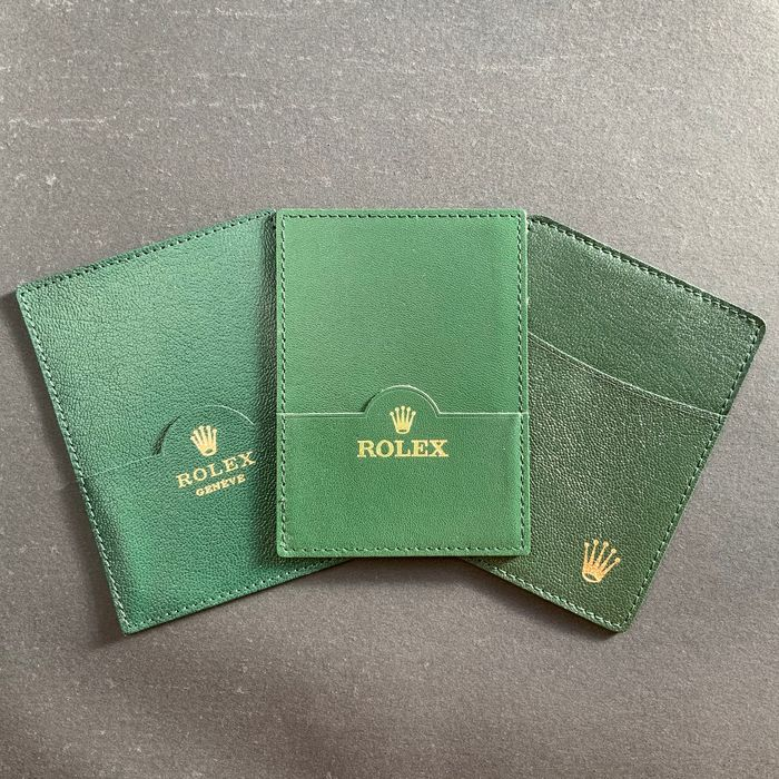 Rolex - Leather Cards And Cash Holder - Unisex - 1990-1999