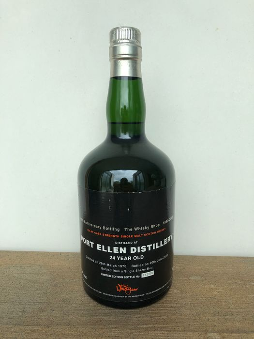 Port Ellen 1978 24 years old 10th Anniversary bottling for The Whisky Shop - Douglas Laing - 70cl