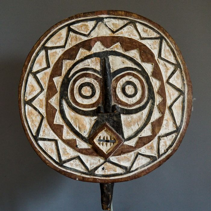 Solar mask - Wood - Bobo / Bwa - Burkina Faso