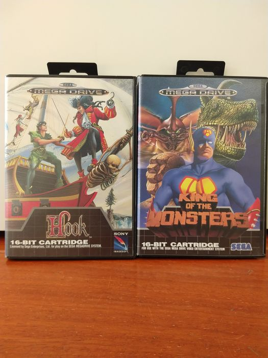 Sega megadrive - Hook/King of the Monsters (2)