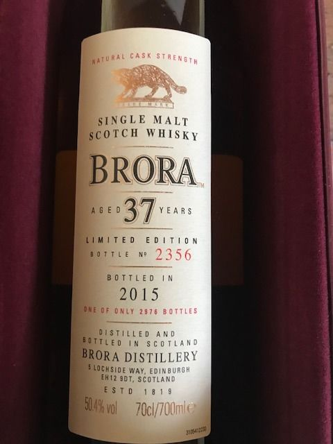 Brora 37 years old 14th Release - One of 2976 - Original bottling - 70cl