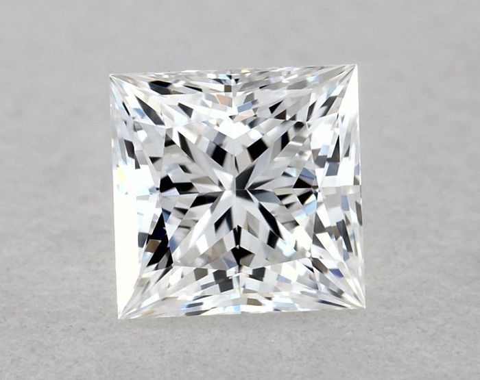 Diamond - 0.50 ct - Square - E - IF (flawless), EX/EX | GIA