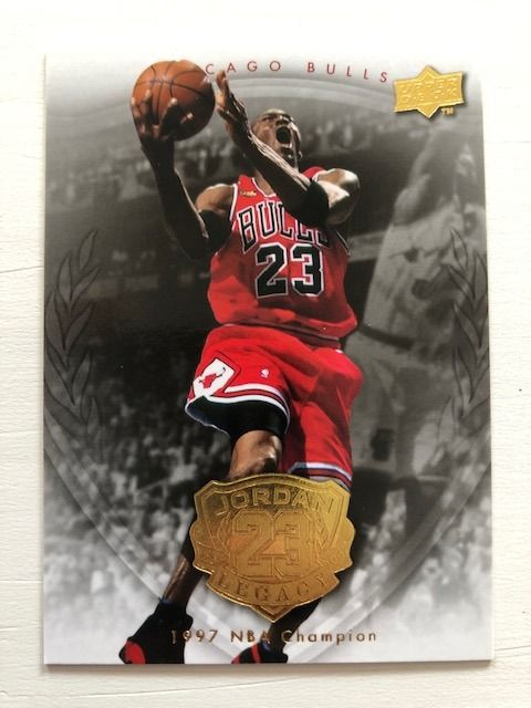Upper Deck - Michael Jordan Legacy - Lote de la NBA - Chicago Bulls