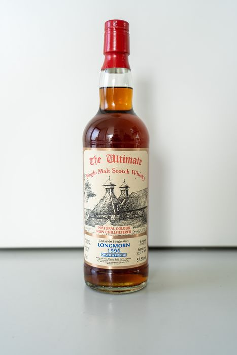 Longmorn 1996 17 years old Cask Strength Sherry Cask  - The Ultimate - 70cl