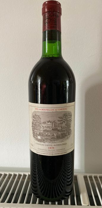 1975 Chateau Lafite Rothschild - Pauillac 1er Grand Cru Classé - 1 bottle 0,73L