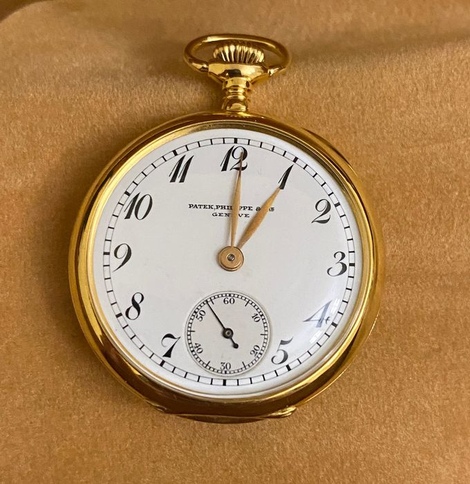 Patek Philippe - pocket, bassine style, open face - Unisex - 1901 - 1949