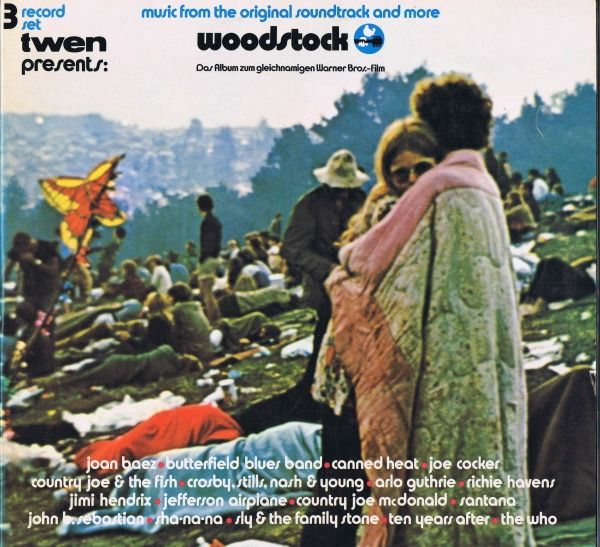 Woodstock & Related - Music from the original Soundtrack and More... - 3xLP Album (Triple album) - 1970