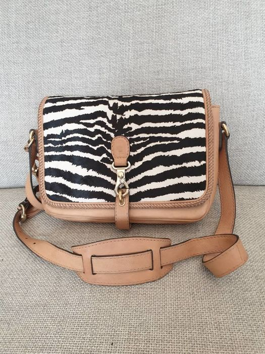 Gucci - Marrakech Zebra Handbag