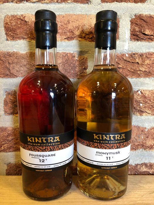 Kintra - Foursquare 2005, Monymusk 2007 - b. 2018 - 70cl - 2 bottles