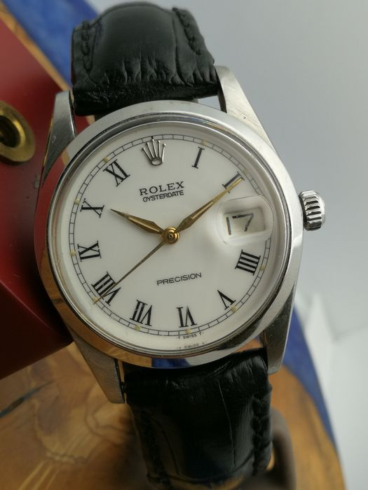 Rolex - Oysterdate Precision - Special Dial - 6694 - Unisex - 1970-1979