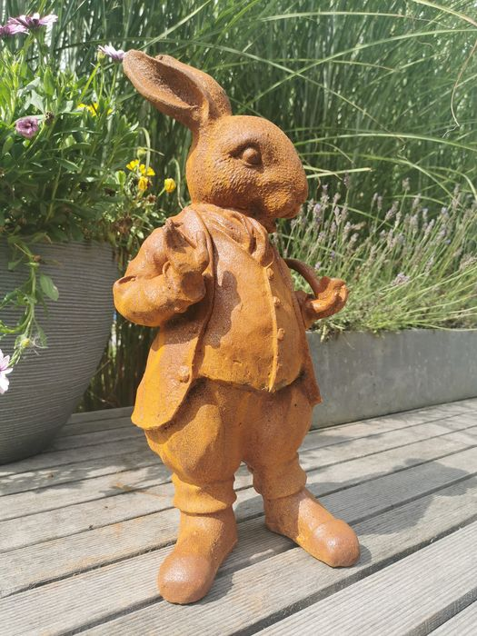 image, Rabbit with pipe - Iron (cast) - recent