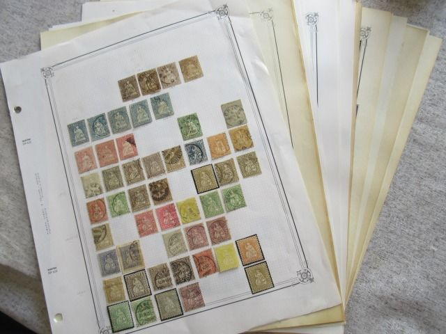 Switzerland - Collection of stamps.