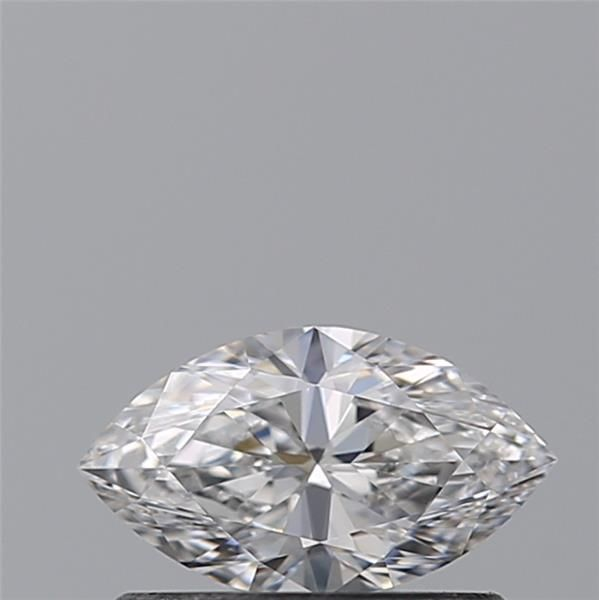 1 pcs Diamant - 0.40 ct - Marquise - D (incolore) - VVS2