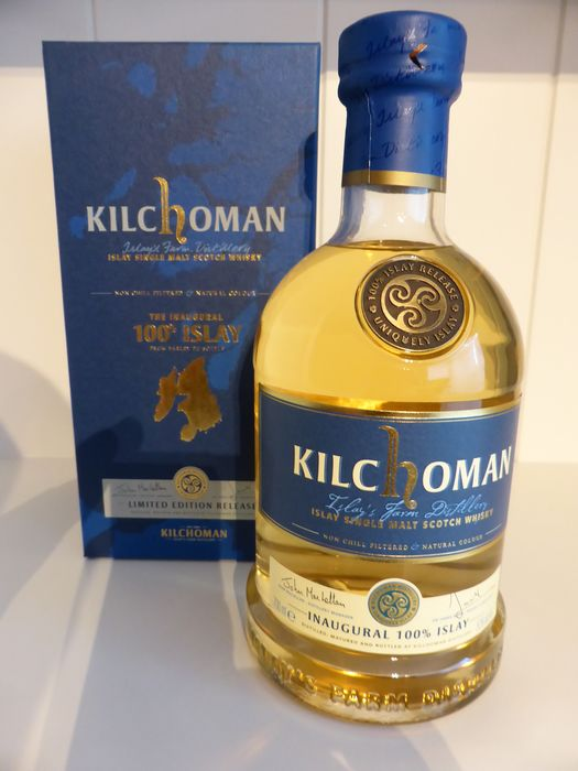 Kilchoman 3 years old Inaugural 100% Islay - Original bottling - b. 2011 - 700ml