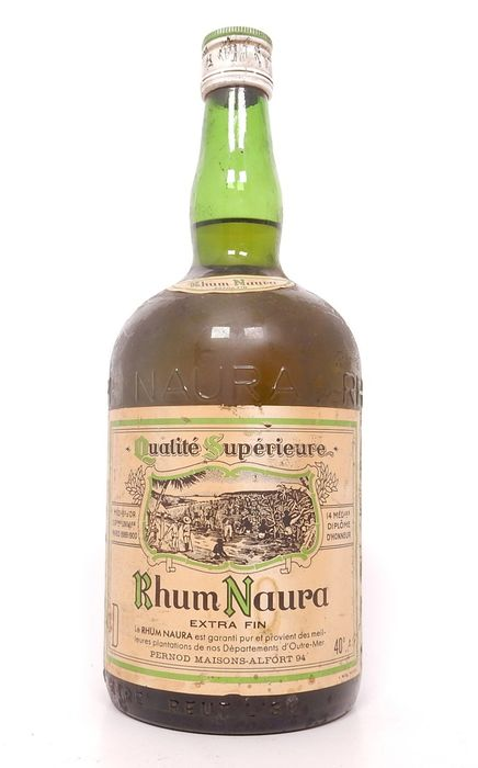 Naura Extra Fin - French Islands rum - b. 1970s - 100cl