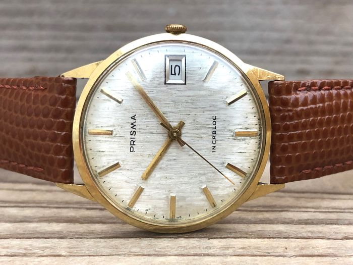 "Prisma - Linen Dial - ""NO RESERVE PRICE"" - Men - 1960-1969"