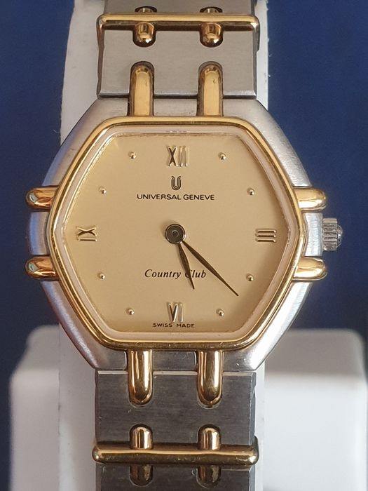 """Universal Genève - """"NO RESERVE PRICE"""" Country Club """"New Old Stock""""   - 616 600 - Dames - 1990-1999"""