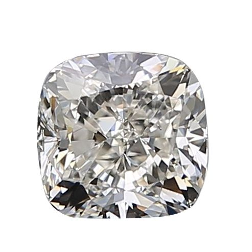 1 pcs Diamant - 0.90 ct - Coussin - I - SI2