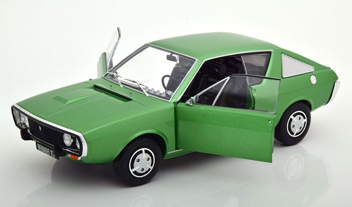 Solido - 1:18 - Renault 17 MK1 1967 - Color verde